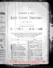 Photo: 1876 - 7 Grand Rapids [Michigan] city and Kent county directory  / Murphy & Co. / FHL microfilm 1,376,88