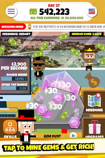 Gem Miner Tycoon: Clicker Game  screenshots EasyGameCheats.pro 2