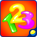 Kids games: learning numbers icon
