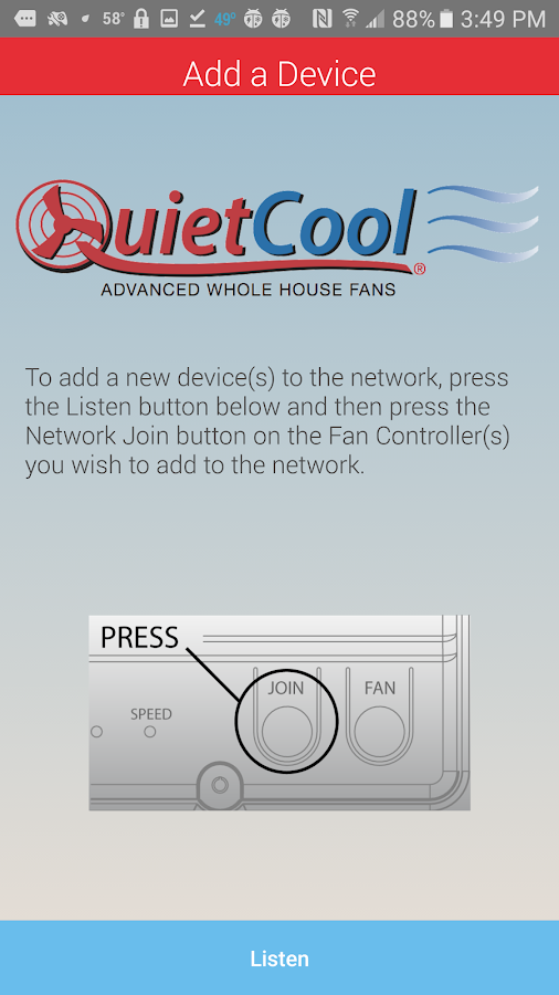 QuietCool- screenshot