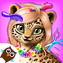 Jungle Animal Hair Salon - Styling Game for Kids icon