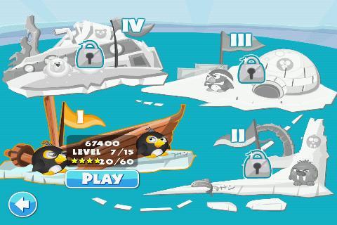 Скриншот Pengu Wars HD