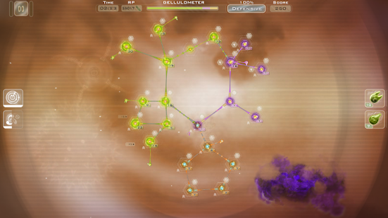 Gelluloid: Bio War Strategy Screenshot 2