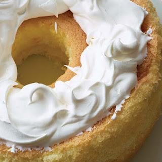 Lemon Rice Chiffon Cake.