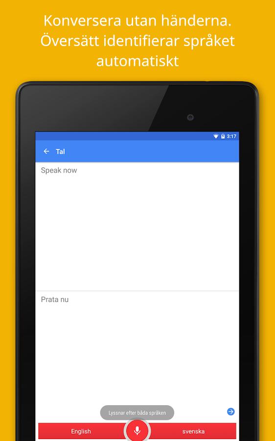 Google Översätt- screenshot