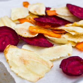 Root Vegetable Chips.