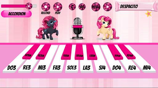Girl Piano : Pink Piano android2mod screenshots 3