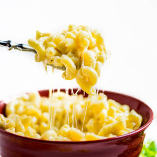 Impossibly Cheesy Homemade Mac and Cheese.