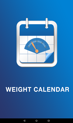 Weight Tracking Calendar - screenshot