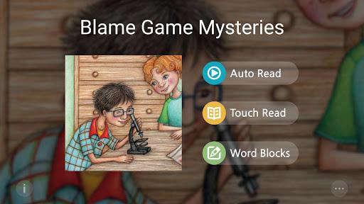 Blame Game Mysteries 4CV