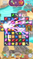 Genies & Gems - Jewel & Gem Matching Adventure APK screenshot thumbnail 2
