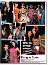 Photo: Avant garde fashion comp Dec 07. 2nd price winner!