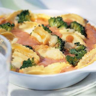 Ravioli-Broccoli-Gratin
