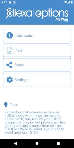 cliexa-MyPLAN screenshot 1