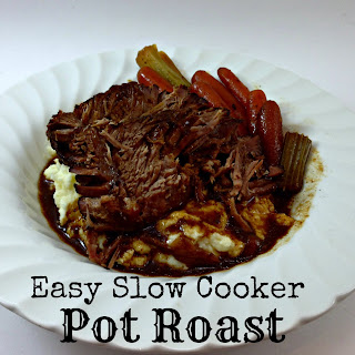 Easy Slow Cooker Pot Roast.