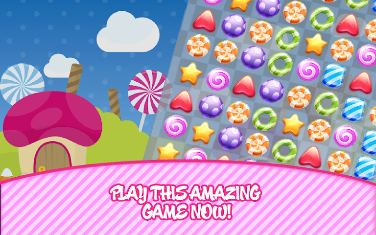 android Candy Match Screenshot 0