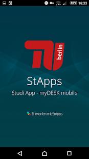 StApps - Studi App TU Berlin - náhled