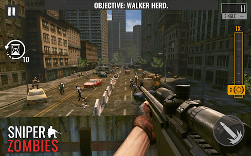 Sniper Zombies Offline Game Mod Apk 1.24.1 (Unlimited Gold) 3