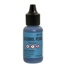 Tim Holtz Alcohol Pearl 14ml - Celestial