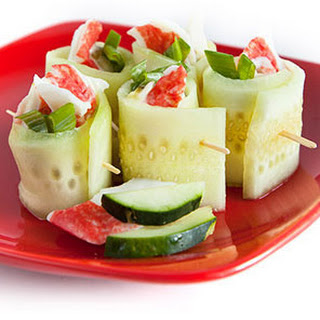 Cucumber Crab Wraps Recipe