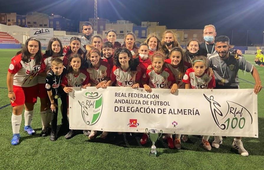 El Almería campeón en la categoría cadete.