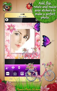 Flowers Photo Stickers - náhled