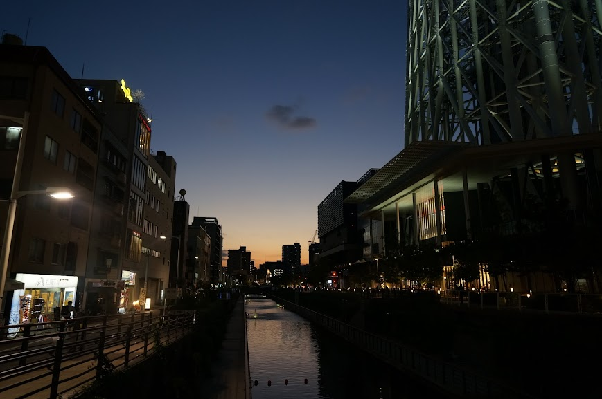 Oshiage area, Tokyo