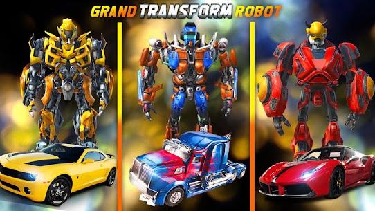Robot tornado transform Shooting games 2020 1