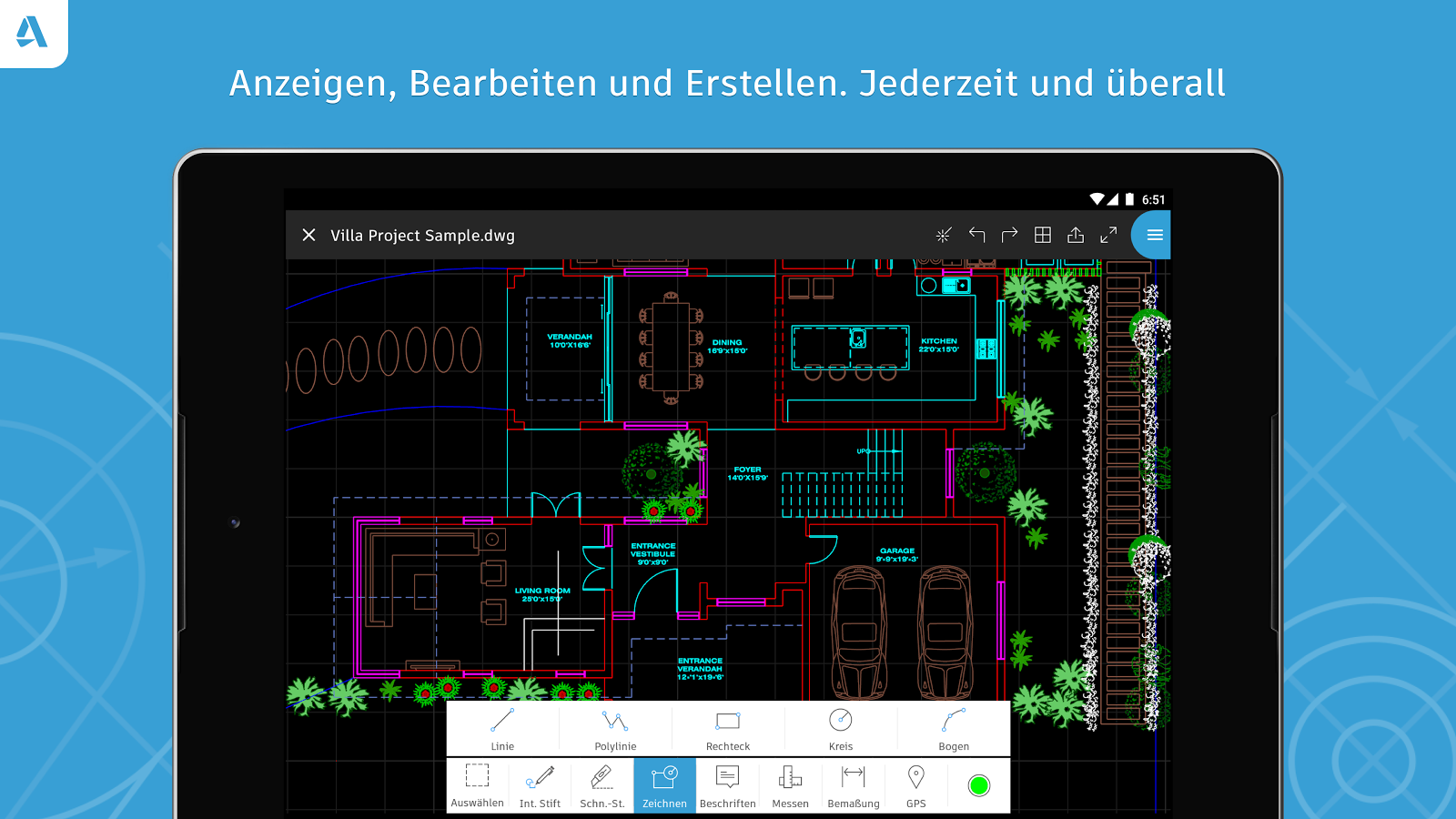 AutoCAD – DWG-Editor – Screenshot
