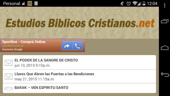 Estudios Biblicos Cristianos- screenshot thumbnail