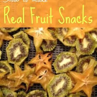 Real Fruit Snacks.