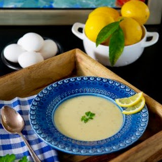 Soupa Avgolemono (Greek Egg-Lemon Soup)