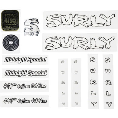 Surly Midnight Special Decal Set alternate image 2