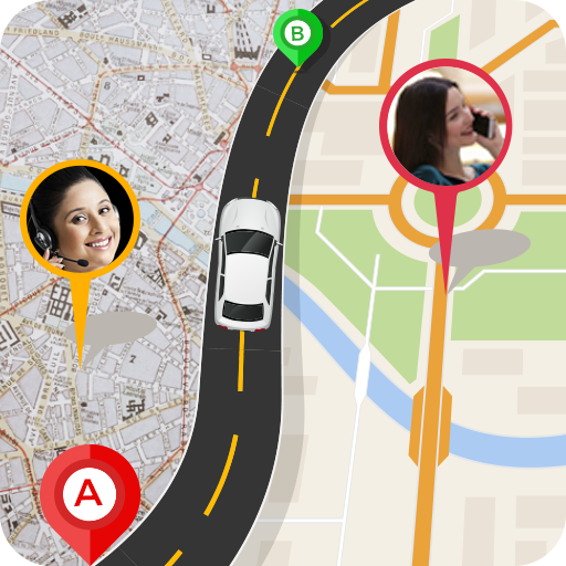 GPS Route Finder : Maps Navigation & Street View