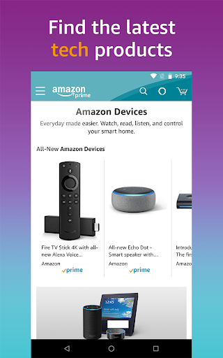 Amazon Shopping - Search Fast, Browse Deals Easy screenshots 8