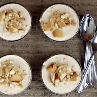 Easy No Bake Banana Yogurt Pudding.