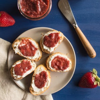 Strawberry and Rhubarb Chia Seed Jam