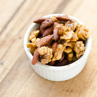 Crockpot Spiced Nuts