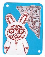 Photo: Wenchkin's Mail Art 366 - Day 214 - Card 214a