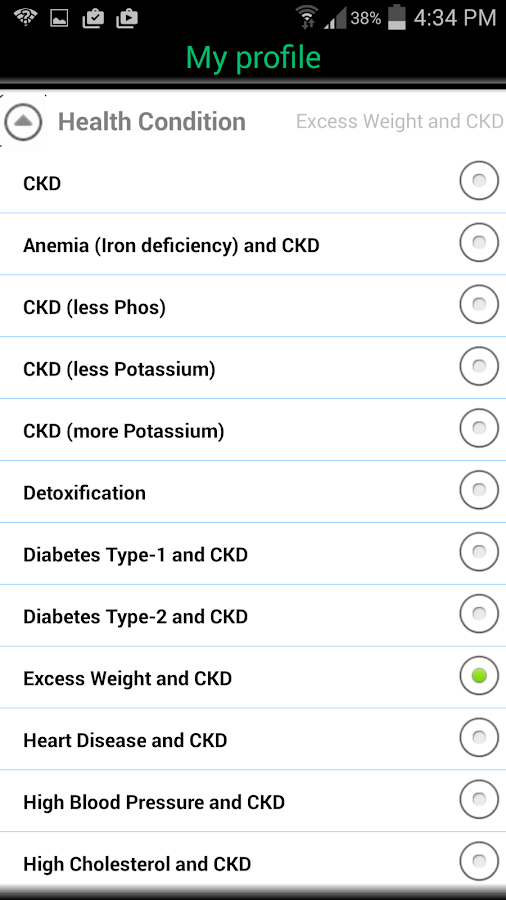 CKD (Chronic Kidney Disease)- screenshot