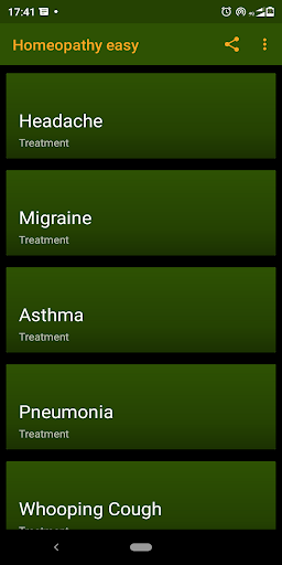 Homeopathy treatment yourself easy to all peoples. screenshot 3
