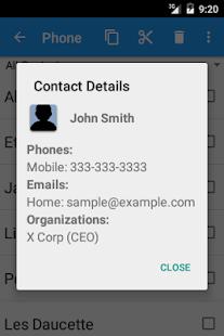 Copy Contacts- screenshot thumbnail