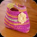 Crochet bolsa design idéias icon