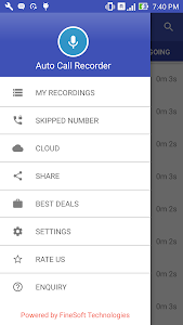 Auto Call Recorder screenshot 1