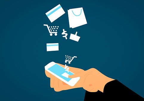 Visa, Business, Buying, Card, Cellphone