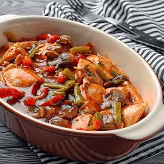 Savory Chicken Stew.