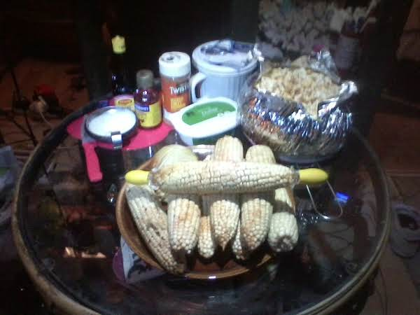 Spa Elote Ger Mais Ital Callo Hawi Palao  On  Cob° Recipe