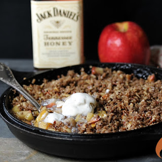 Cast Iron Tennessee Honey Whiskey Apple Crisp