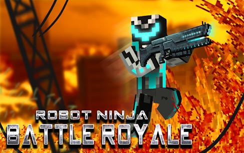 Robot Ninja Battle Royale 9