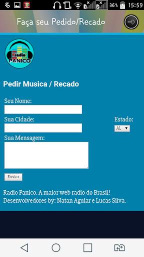 Rádio Pânico screenshot 2